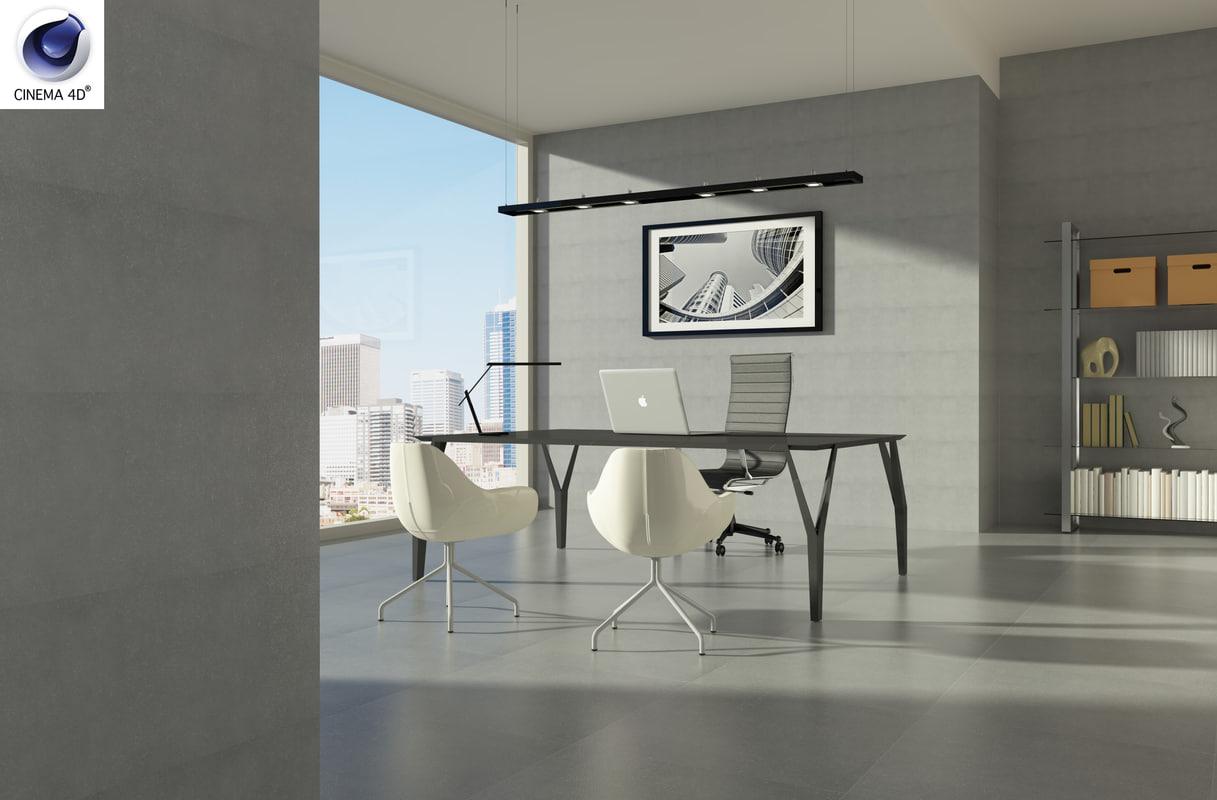 office boss 3d c4d