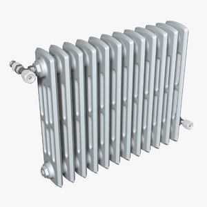 classic heating radiator 3D model