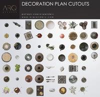 Decoration plan cutouts PNG