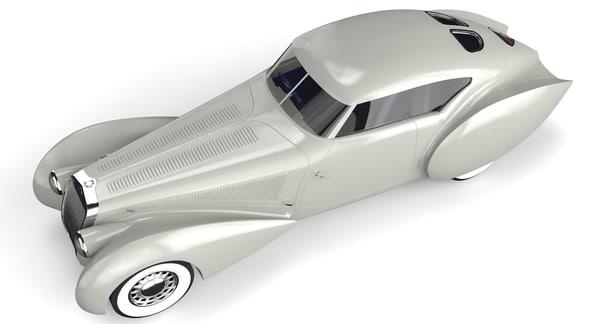 delage 3D model