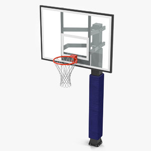 basketball hoop 3 generic 3d model