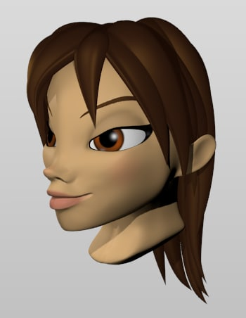head face 3ds