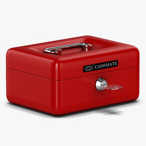 cash box 3d model
