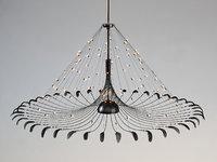 3d chandelier quasar bird