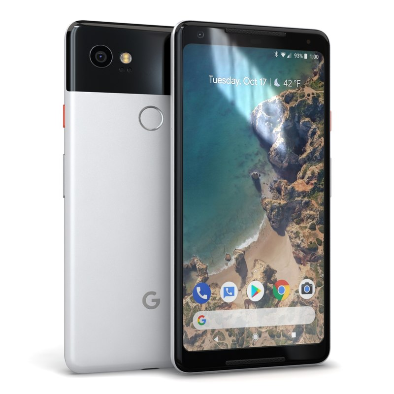 3D google pixel 2 xl model