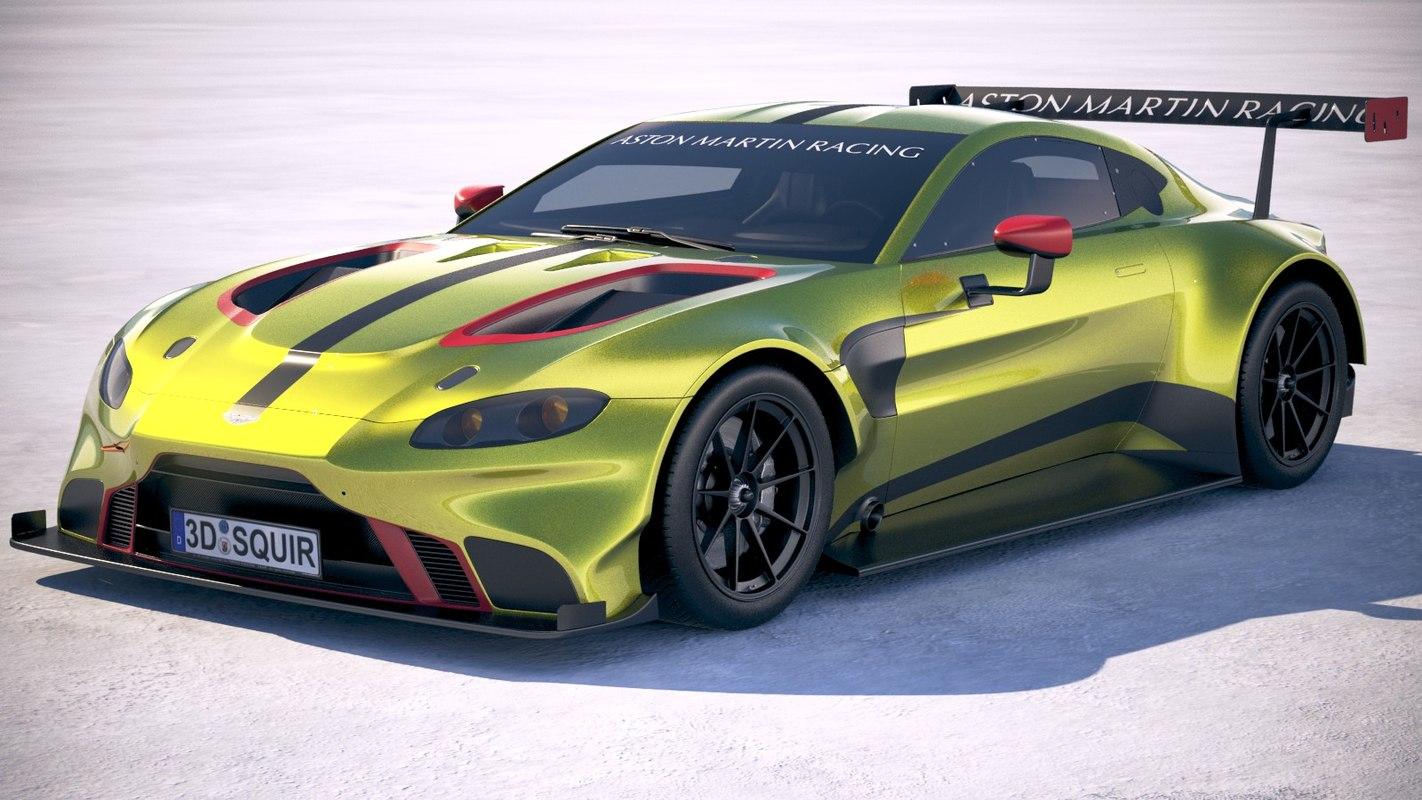 Aston Martin Vantage D Model TurboSquid - Aston martin latest models