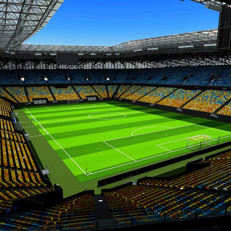 arena lviv ukraine 3d max