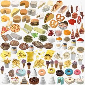 01 - food 3D model
