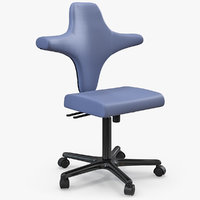 3D surgeon console chair model