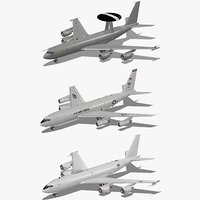 3d model e-3d air force e-6b