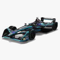 panasonic racing formula e 3D model