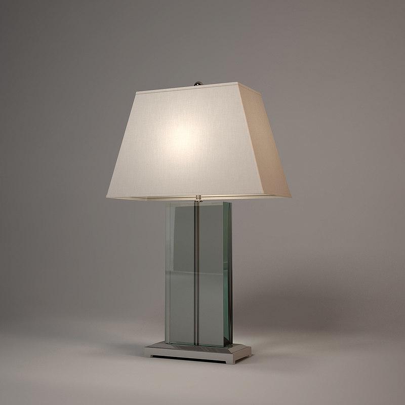 3d model andrew martin hawkins table lamp