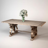 andrew martin fredrick dining table 3d max