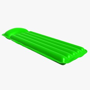 inflatable pool mattress 3d model
