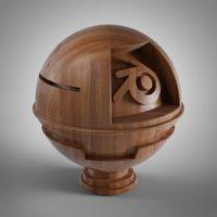 Wood Material for Blender