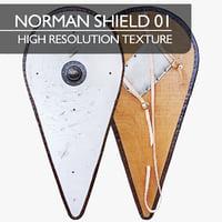 Norman (Kite) Shield 01