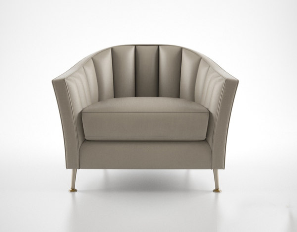 3d christopher guy alexandrine armchair model
