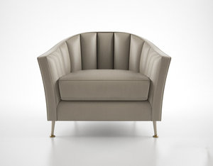 3d christopher guy alexandrine armchair model