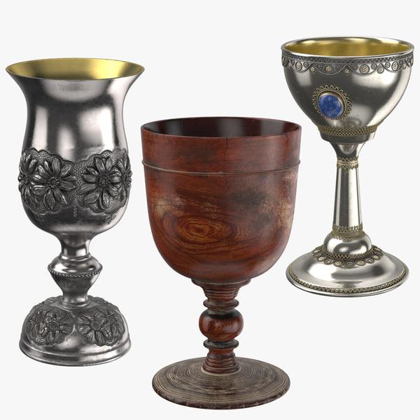 3D goblet