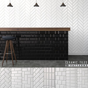 3D seamless ceramic tiles 5 model