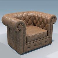 classik sofa armchair 3d max