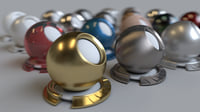 20 Shader Pack - Vray for Maya