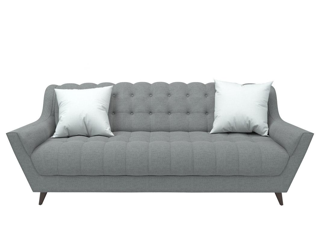 3d fitzgerald sofa