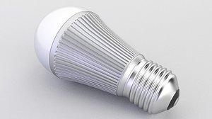 bulb led 3D model
