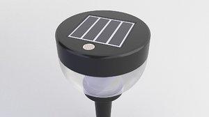 bulb solar 3D model