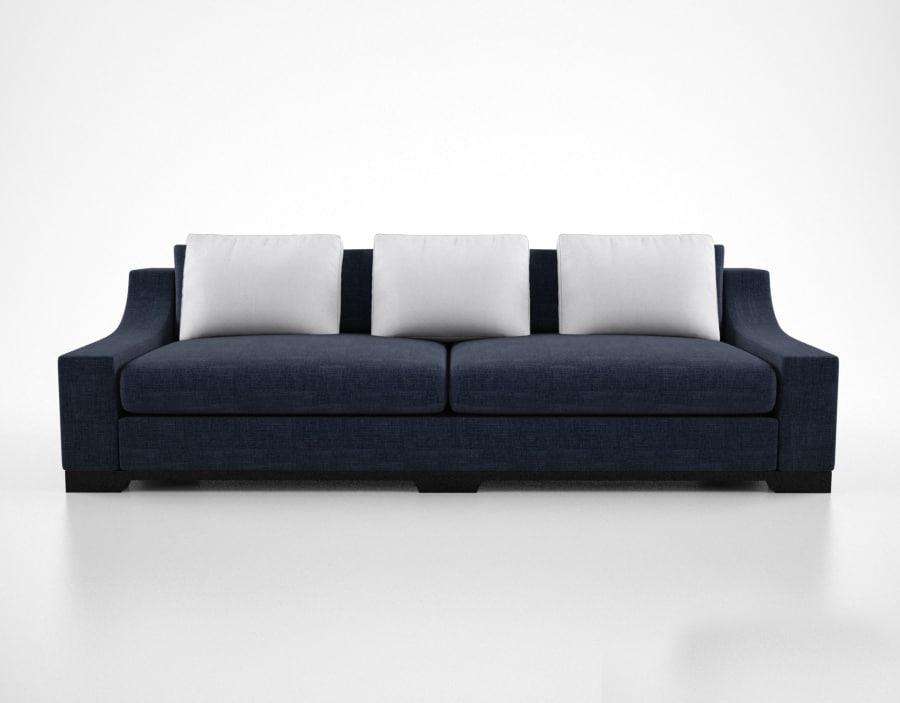 christian liaigre vauban sofa 3d max