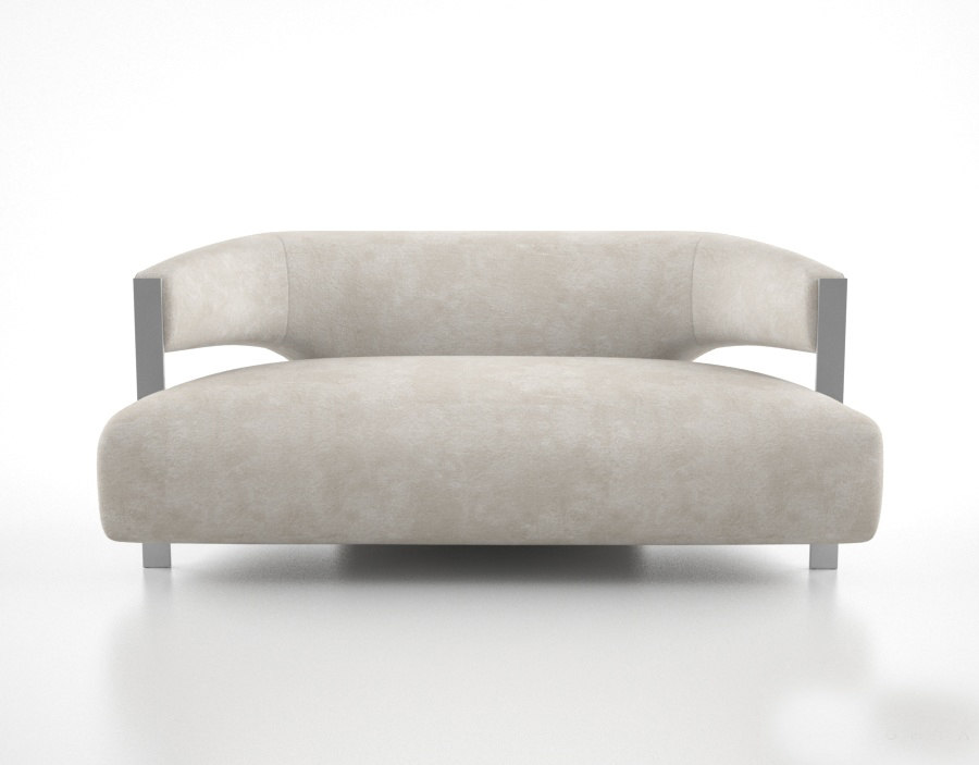 donghia giselle sofa 3d model