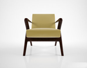 max holly hunt capri lounge chair