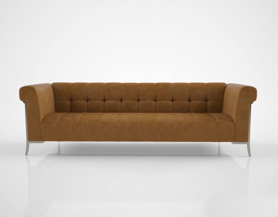 holly hunt sheffield sofa 3d model