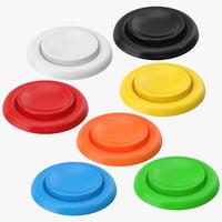button 04 3D model