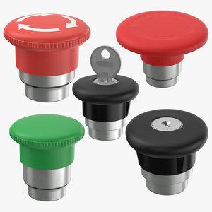buttons 05 3D model