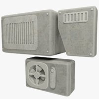 ventilation boxes model