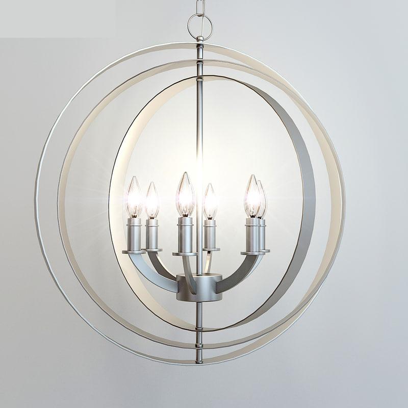 equinox lamp 3d max
