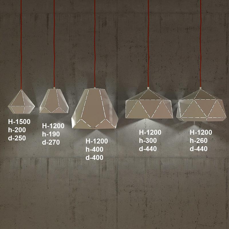 3d model of nowodvorski diamond