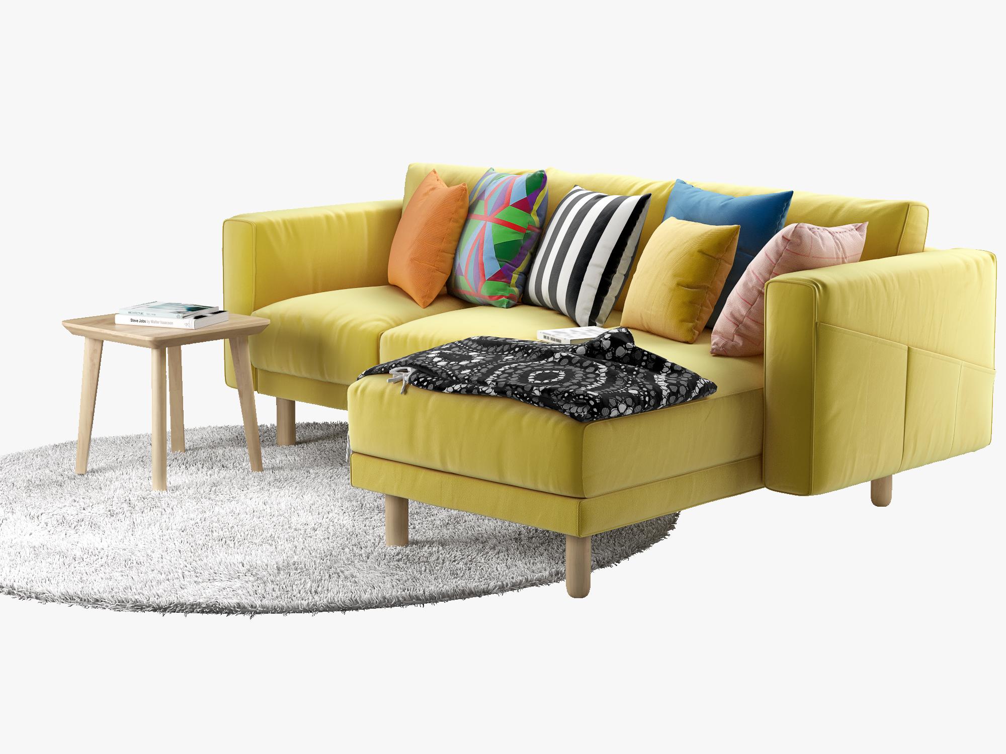 Peachy Ikea Norsborg Two Seat Sofa With Chaise Longue Inzonedesignstudio Interior Chair Design Inzonedesignstudiocom