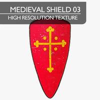 Medieval Shield 03