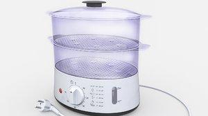 food steamer 3D model