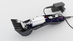3D motor clipper
