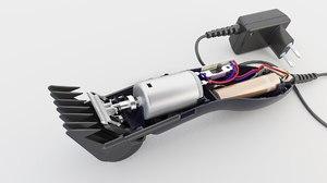 3D clipper battery model