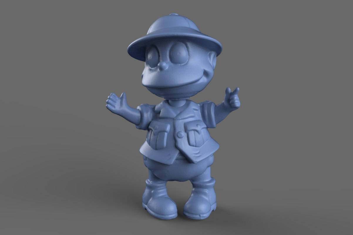3d model scan tommy rugrats