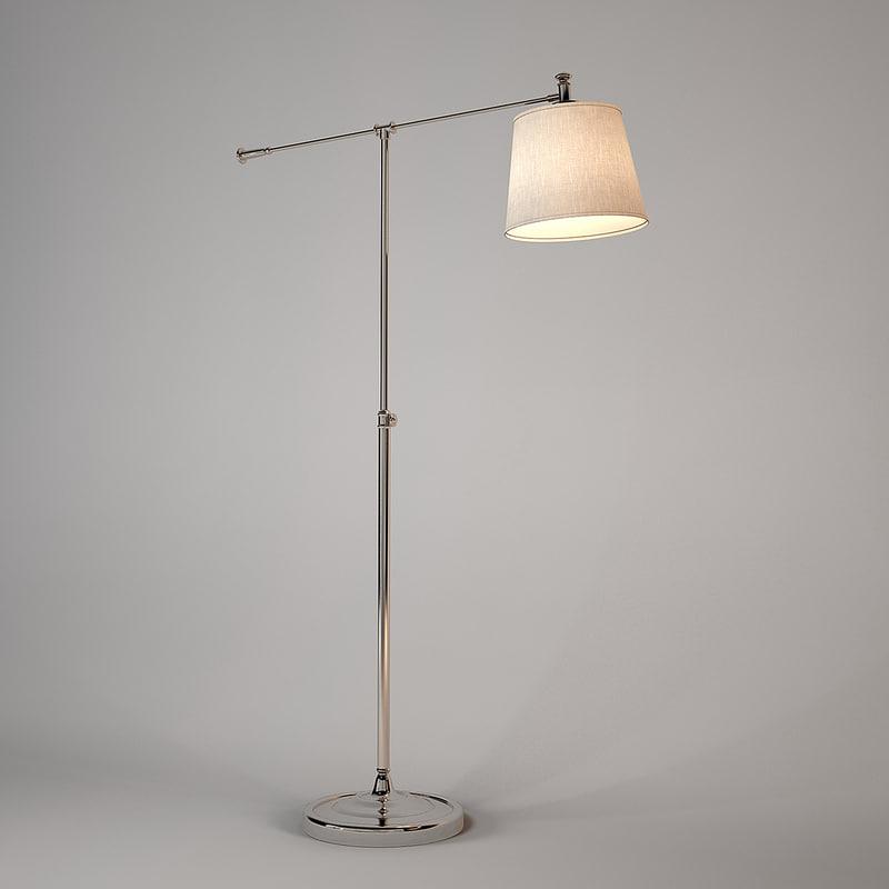 mobilidea floor lamp 3d model