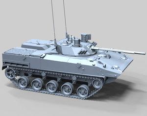 modern bmd-4m sadovnik infantry 3d max