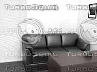 3d casting couch model