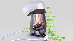 maker popcorn model