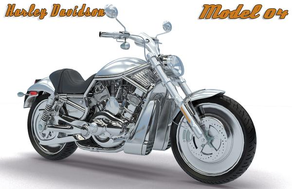 3d model harley davidson - 04