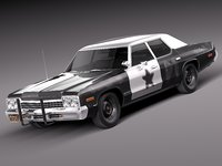 Dodge Monaco 1974 Bluesmobile